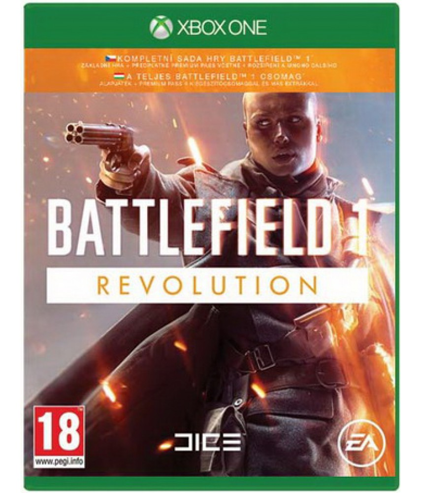 Battlefield 1 Революция (Revolution) (Русская версия) [Xbox One]