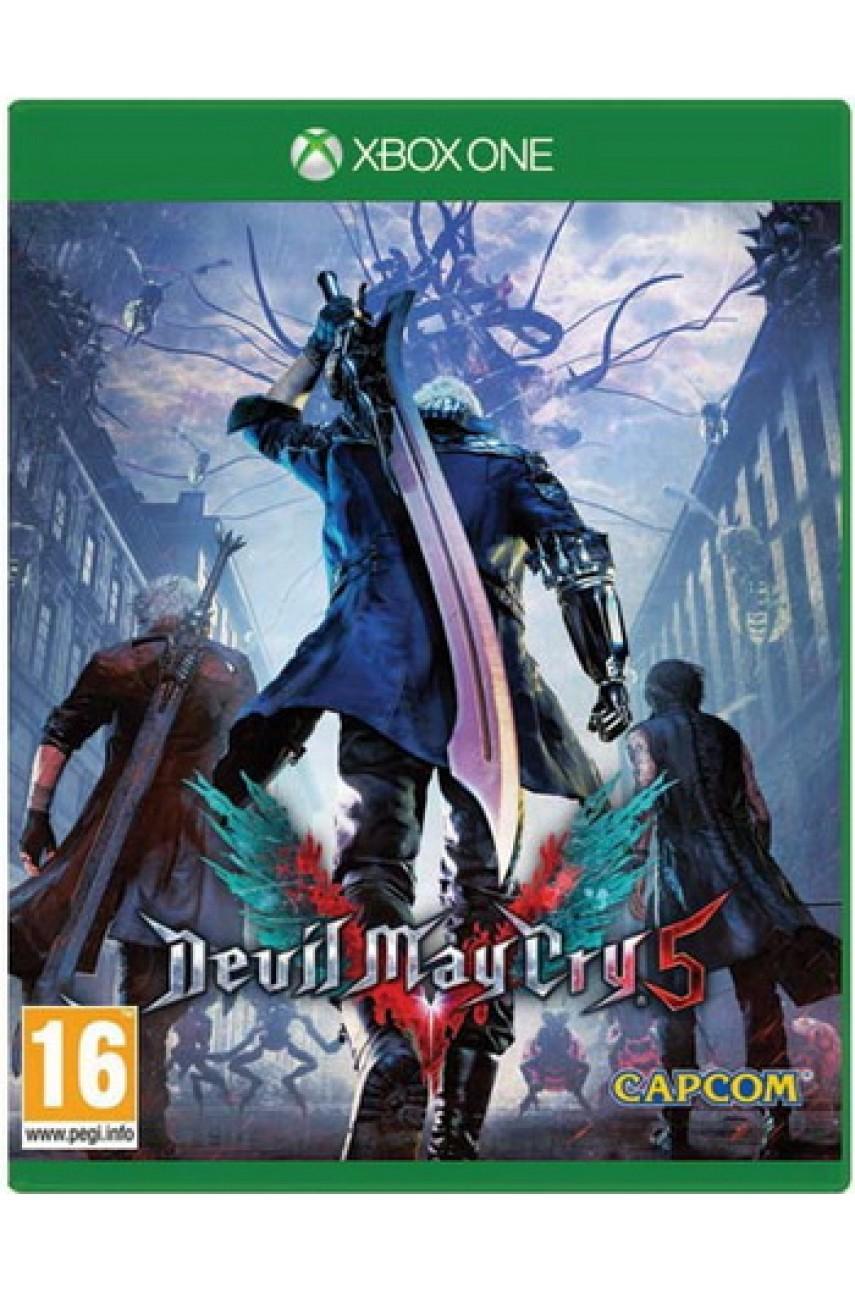 Devil May Cry 5 (Русские субтитры) [Xbox One]