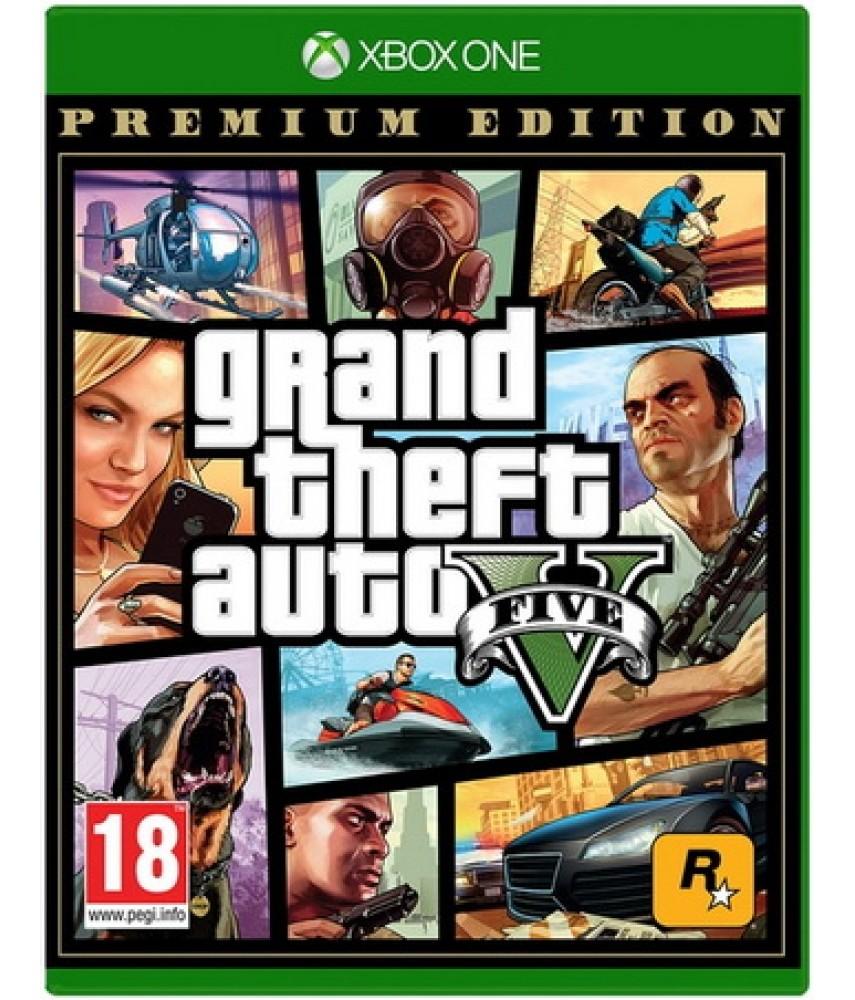 Grand Theft Auto V (GTA 5) - Premium Edition (Русские субтитры) [Xbox One]