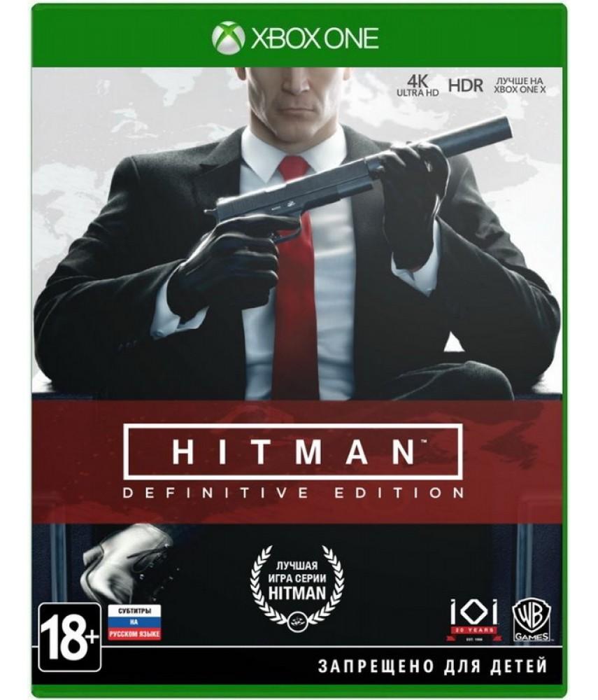 HITMAN: Definitive Edition (Русские субтитры) [Xbox One]