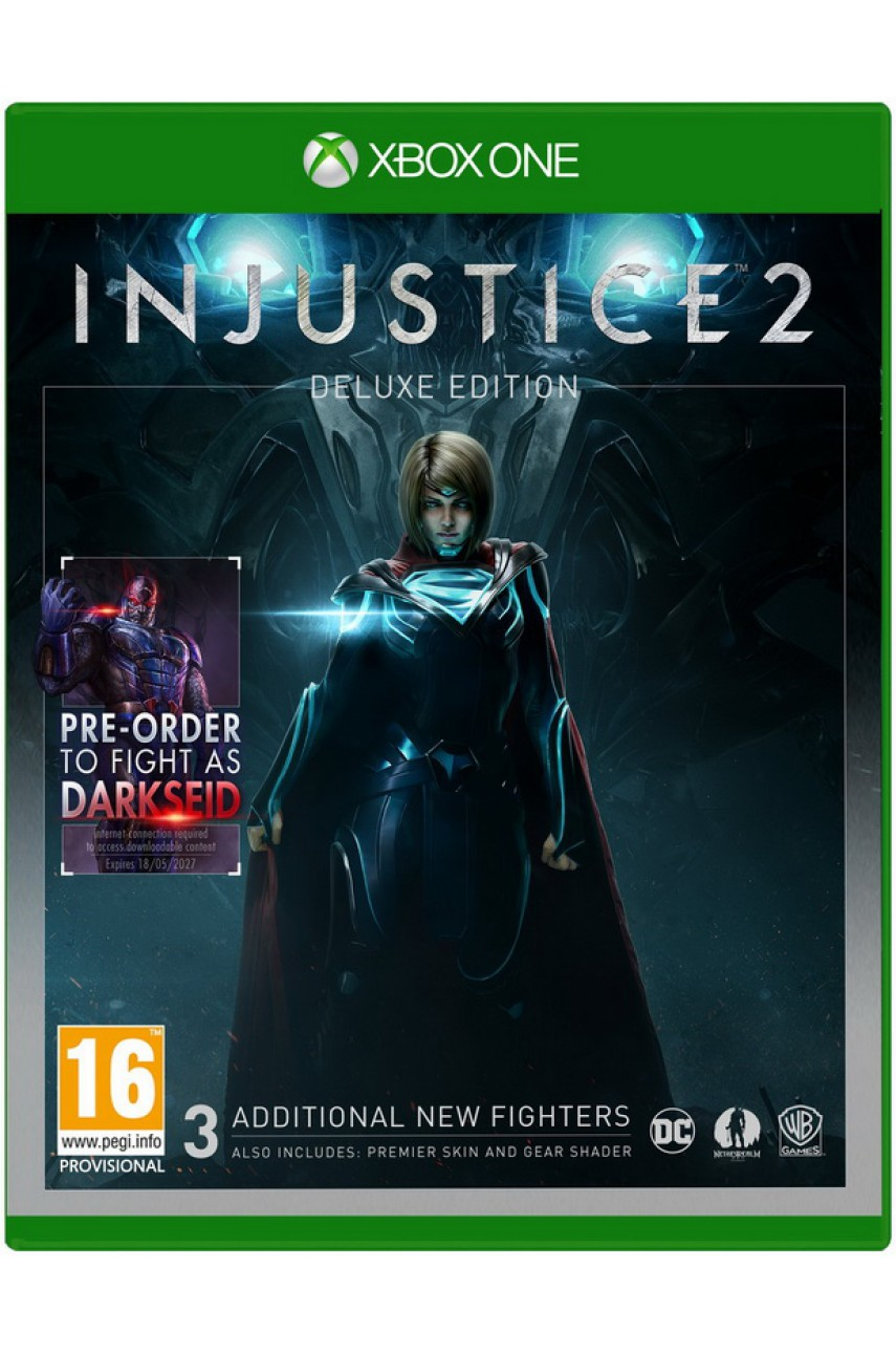 Injustice 2 Deluxe Edition (Русские субтитры) [Xbox One]