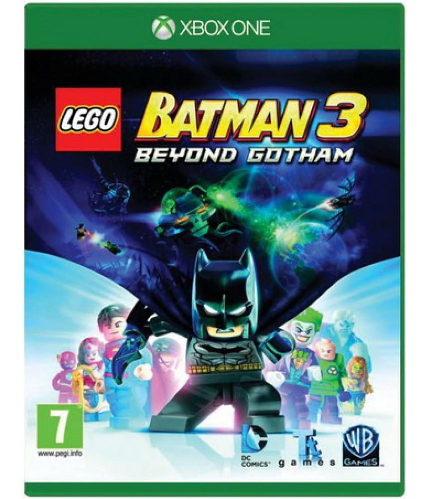 LEGO Batman 3: Покидая Готэм (Русские субтитры) [Xbox One]
