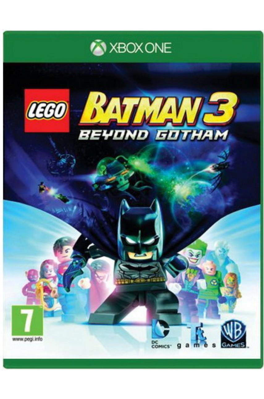 LEGO Batman 3: Покидая Готэм (Русские субтитры) [Xbox One] - Б/У