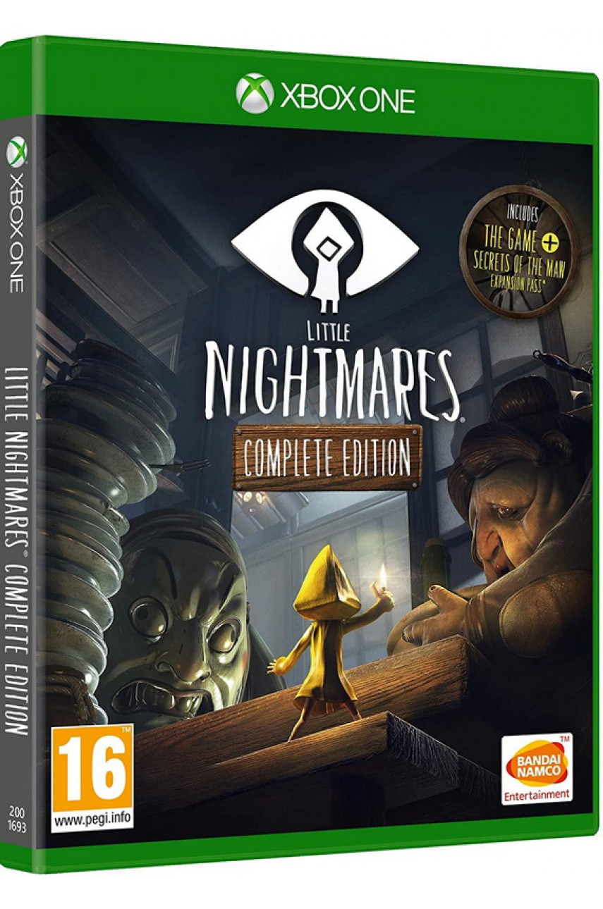 Xbox One игра Little Nightmares Complete Edition (Русская версия)