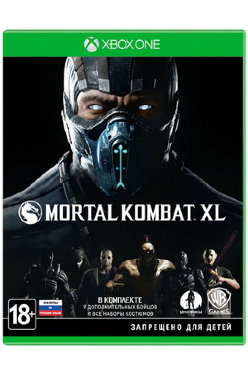 Mortal Kombat XL (Русские субтитры) [Xbox One] - Б/У