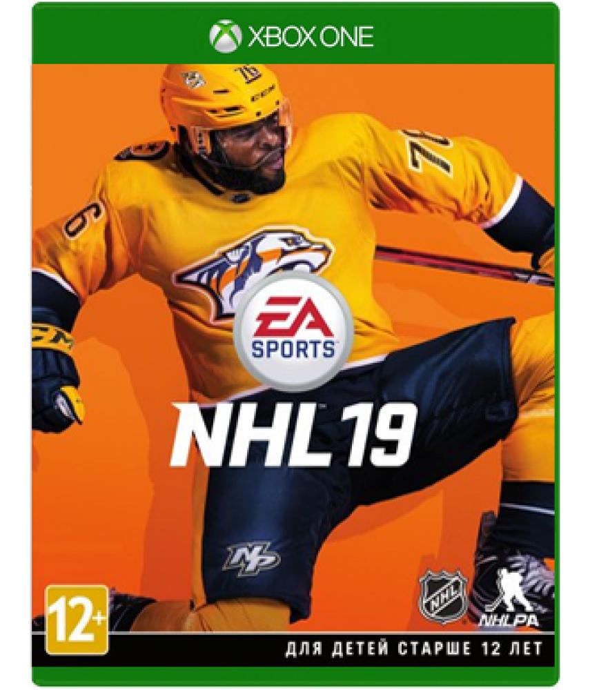 NHL 19 (Русские субтитры) [Xbox One]