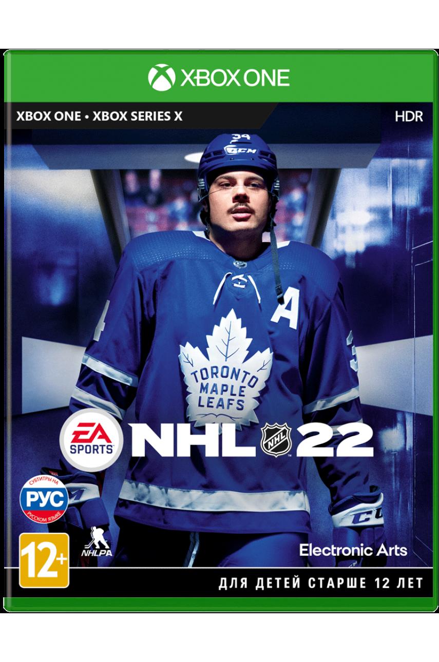 NHL 22 (Русская версия) [Xbox One   Series X]