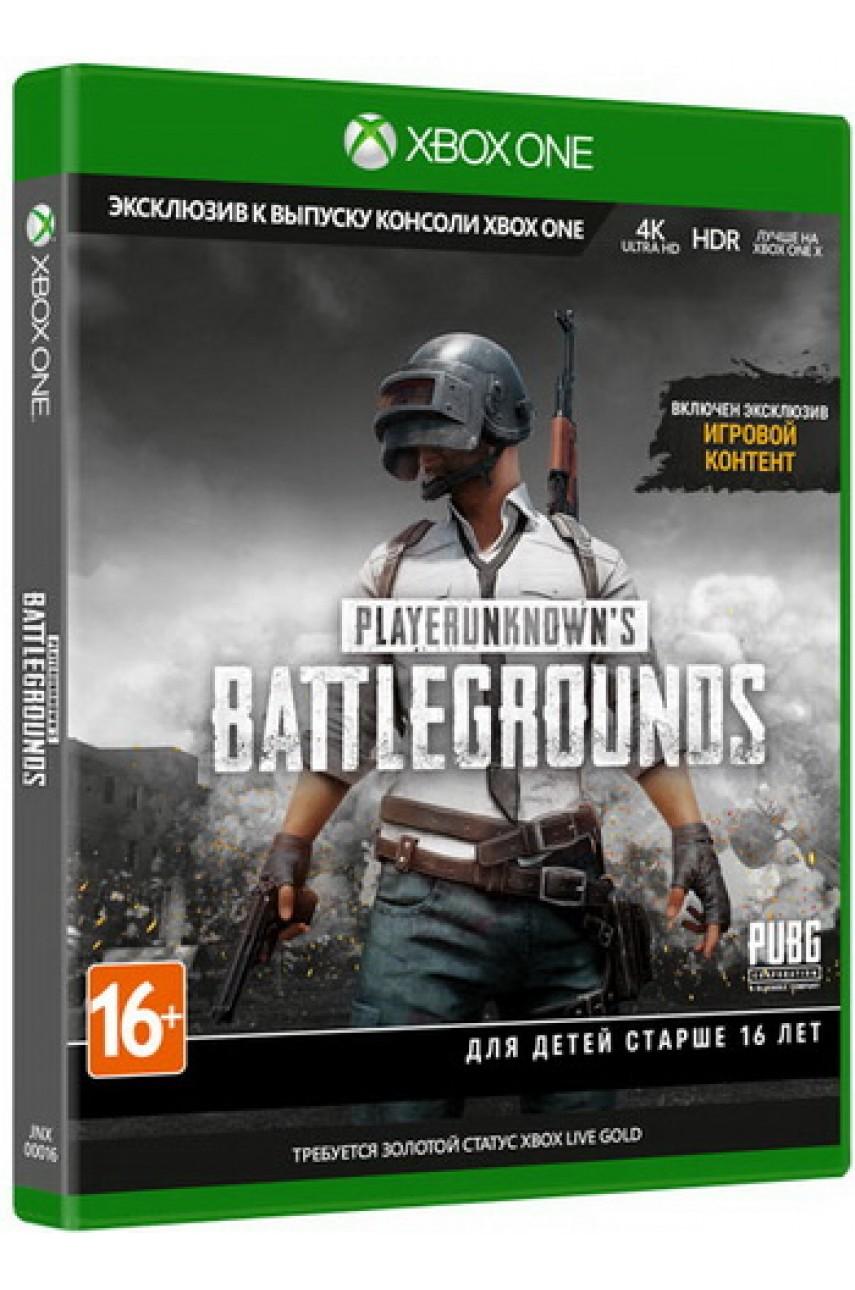 PlayerUnknown Battlegrounds 1.0 [PUBG] (Русские субтитры) [Xbox One]