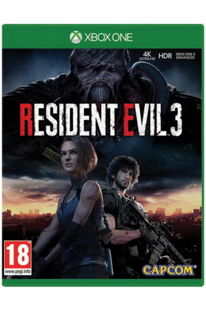 Resident Evil 3 Remake (Русские субтитры) [Xbox One]