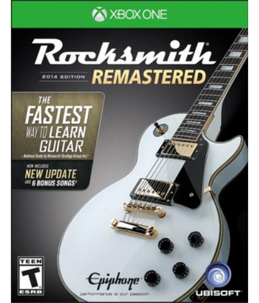Rocksmith 2014 Edition - Remastered [Xbox One]  - игра + кабель для гитары