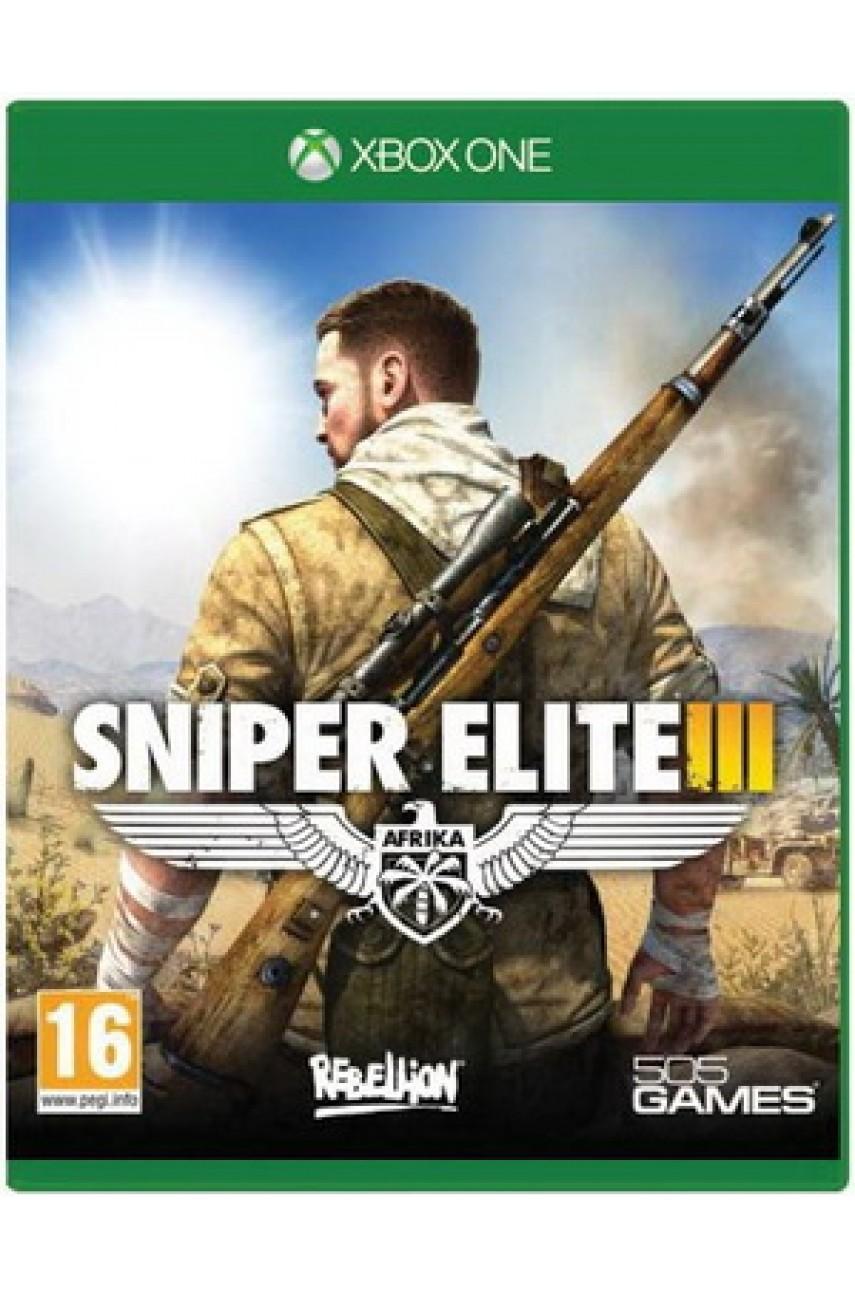 Sniper Elite III (3) (Русская версия) [Xbox One]