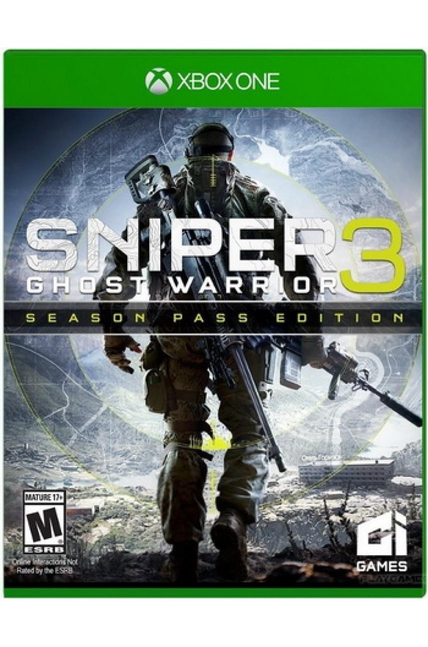 Sniper Ghost Warrior 3 Season Pass Edition (Русская версия) [Xbox One]