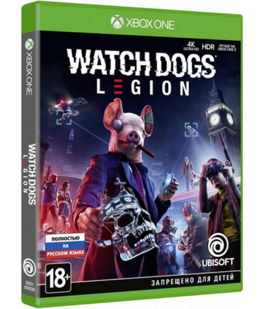 Watch Dogs Legion (Русская версия) [Xbox One]