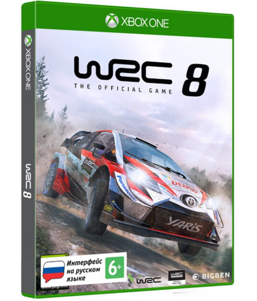 WRC 8 (Русские субтитры) [Xbox One]