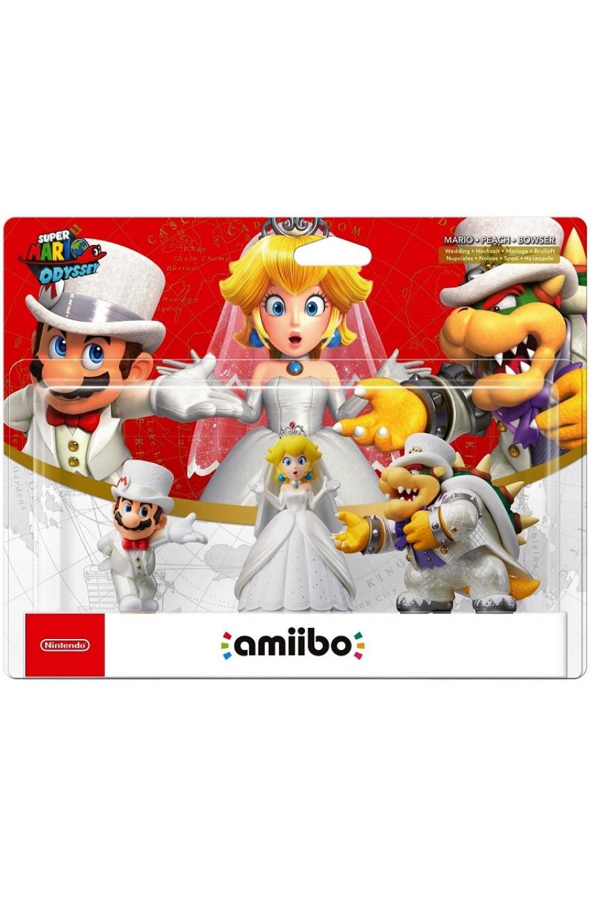 Набор Марио/Пич/Боузер На свадьбе. Super Mario Collection (Amiibo)