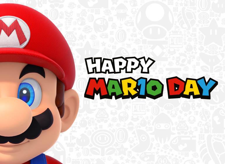 Nintendo отметит 10 марта День Марио в России