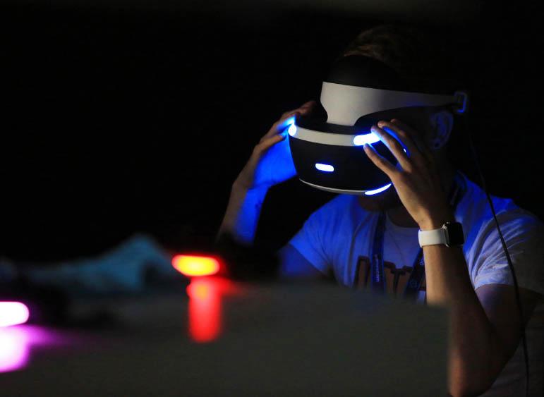 Новые патенты Sony Playstation VR