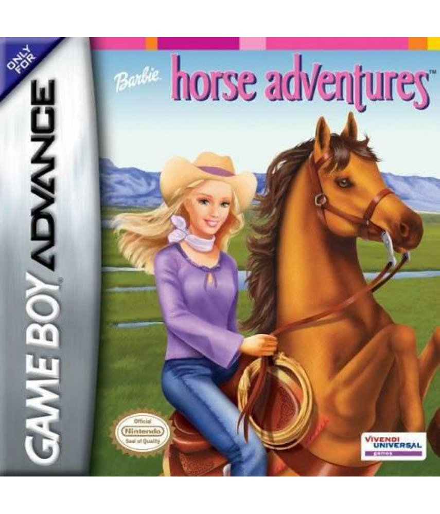 Barbie horse adventures  [GBA]