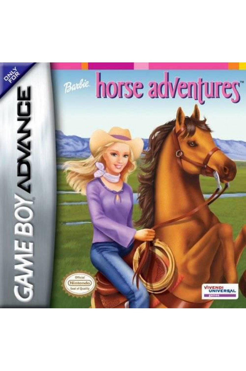 Barbie horse adventures  [GBA]