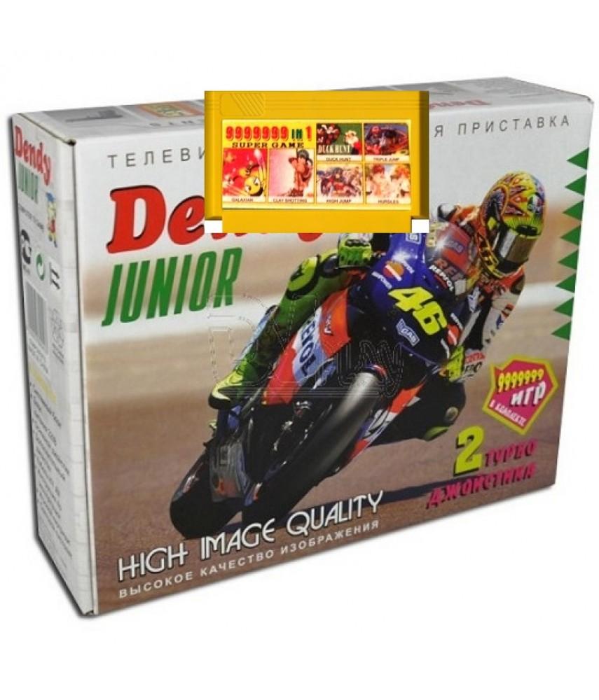 Приставка 8-bit Junior + сборник 9999999 игр
