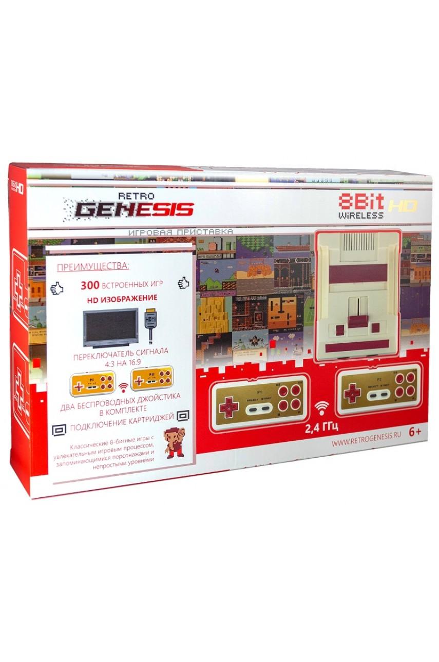 Retro Genesis 8 Bit HD Wireless (300 игр)