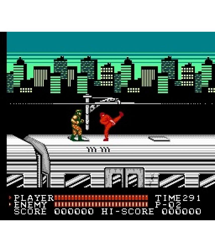 Игра Bruce Lee 2 для Dendy (8bit)