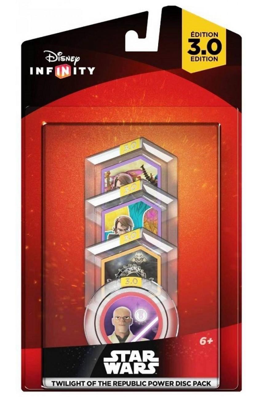 Disney. Infinity 3.0: Набор 4 волшебных жетона Twilight of the Republic