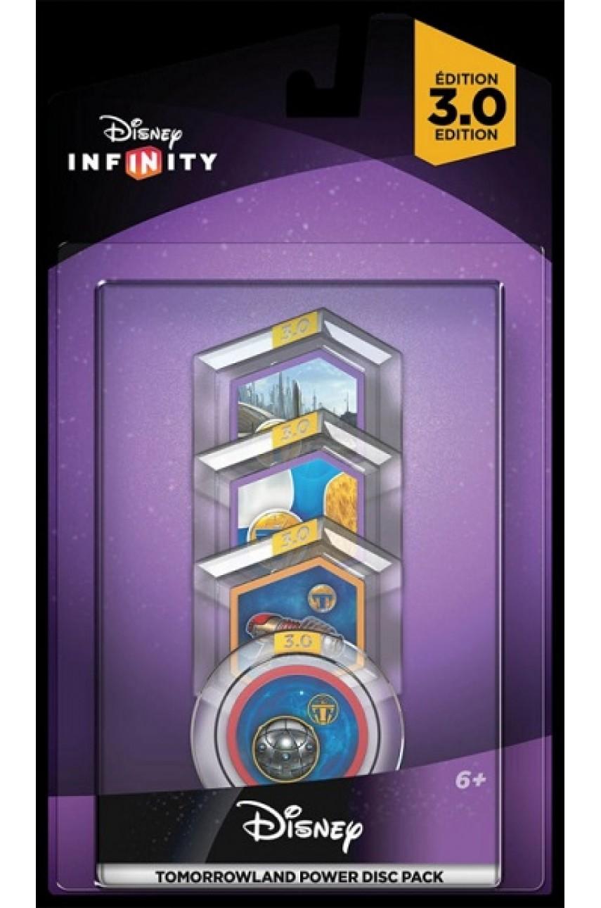 Disney. Infinity 3.0: Набор 4 волшебных жетона Tomorrowland