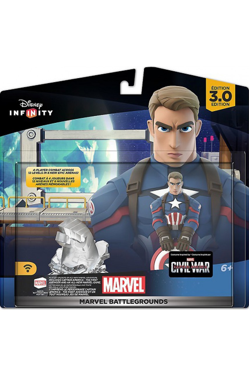 Marvel Battlegrounds набор для Disney Infinity 3.0