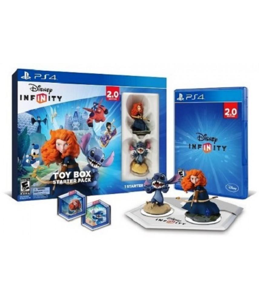 Disney Infinity 2.0 Toy Box Starter Pack (Русская версия) [PS4]