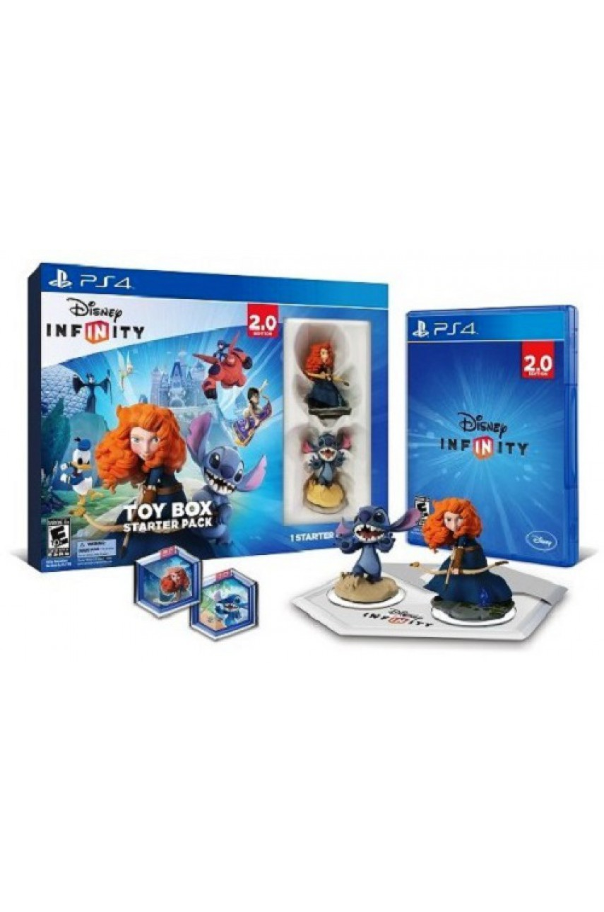 Disney Infinity 2.0 Toy Box Starter Pack (Русская версия) [PS4]