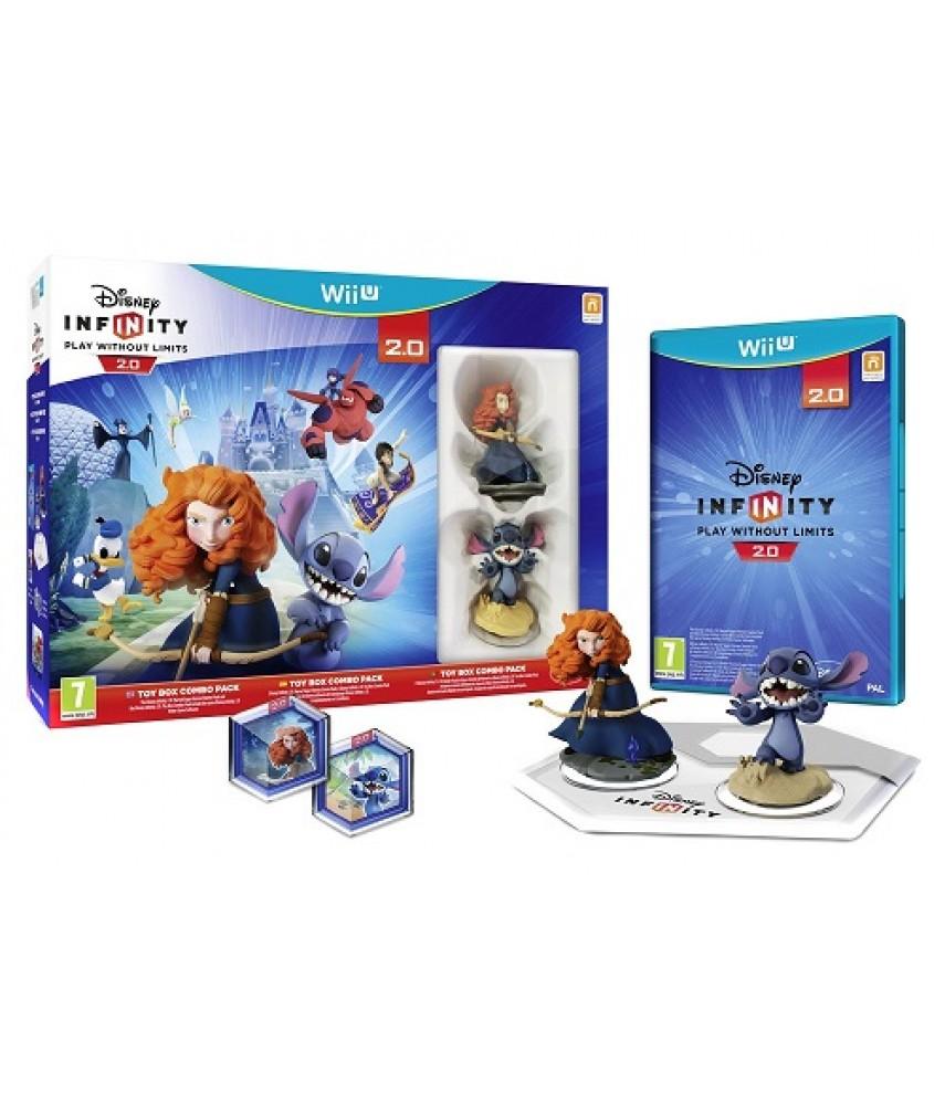 Disney Infinity 2.0 Toy Box Starter Pack [Wii U]
