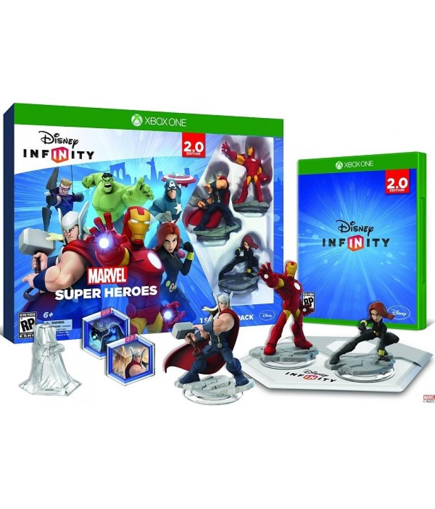 Disney Infinity 2.0 Marvel Super Heroes Стартовый набор (Русская версия) [Xbox ONE]