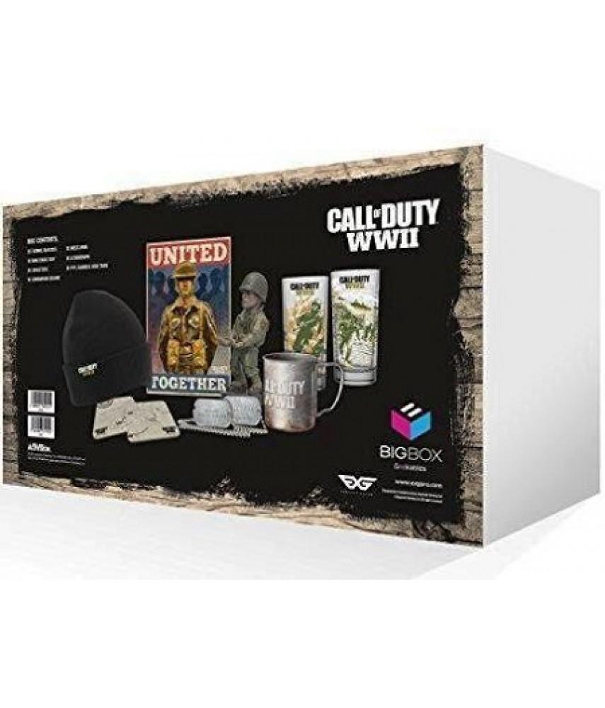 Большая коробка Call Of Duty WWII