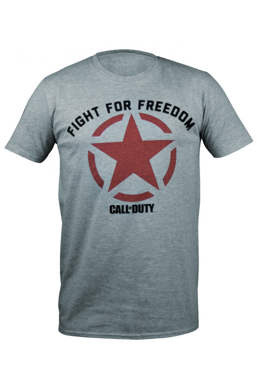 Футболка Call of Duty WW2 Fight for Freedom Star