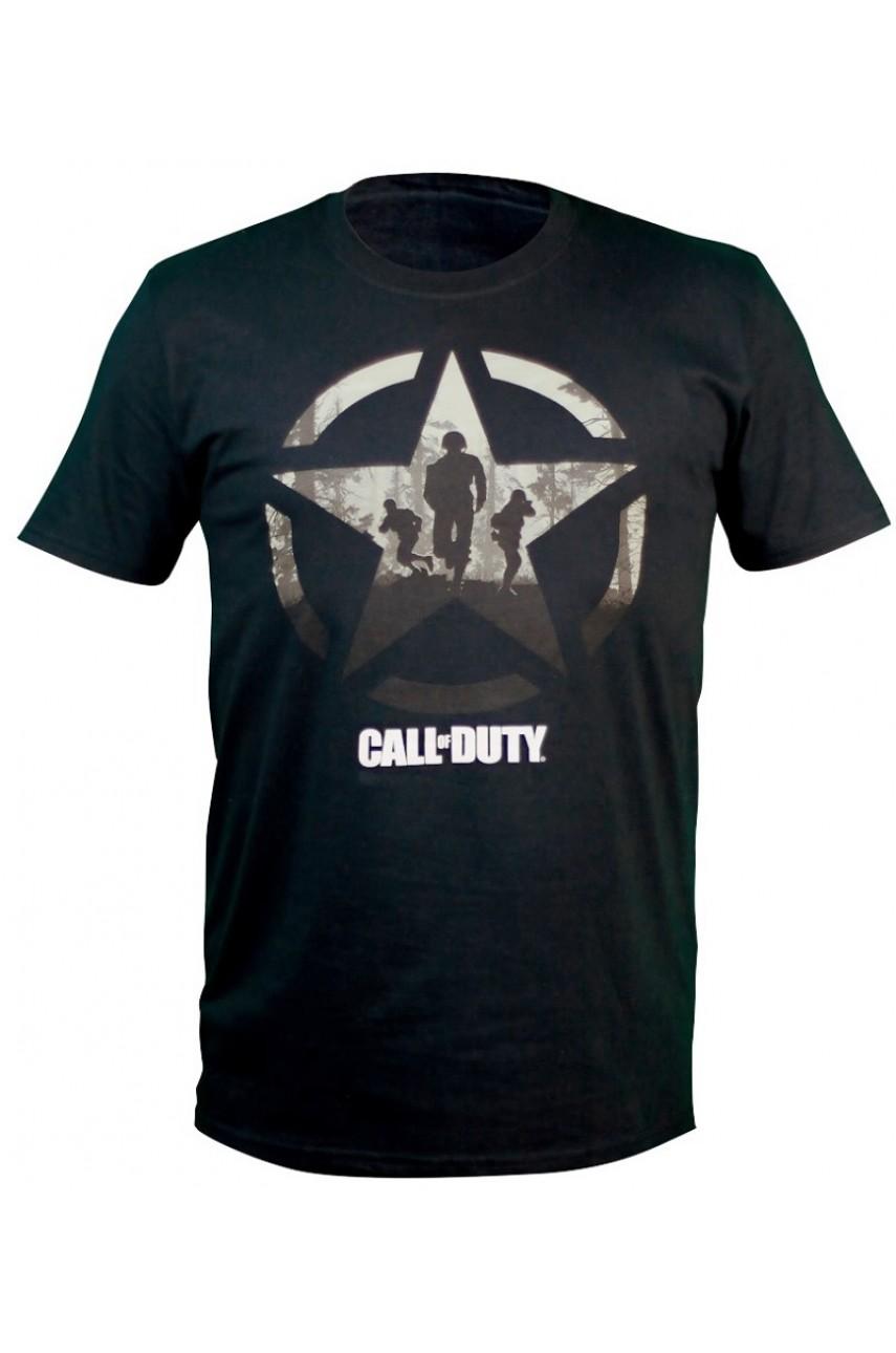 Футболка Call of Duty WW2 Star Soliders