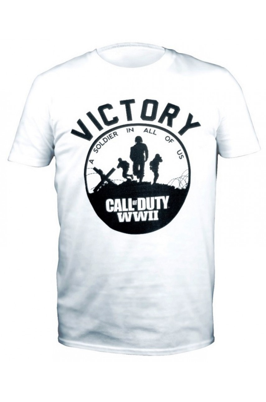 Футболка Call of Duty WW2 Victory Soldier