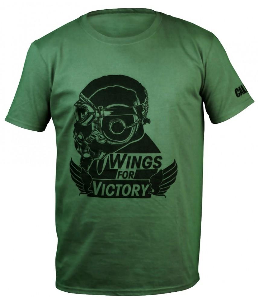 Футболка Call of Duty WW2 Wings Black Army