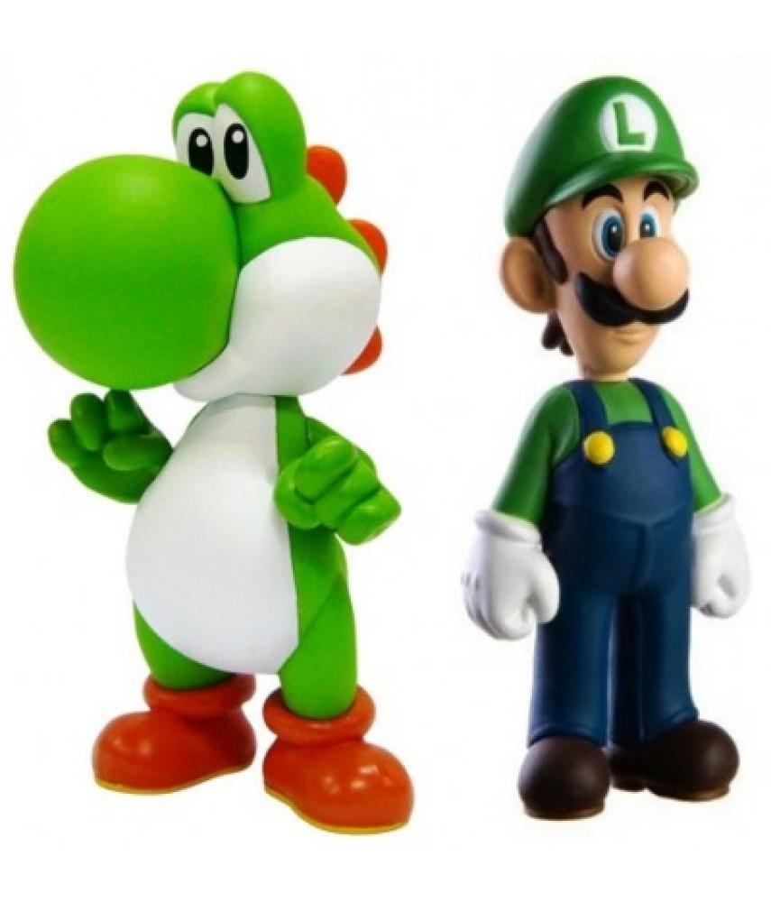 Набор фигурок Super Mario: Yoshi-Luigi 2 в 1 (14 см) Collection