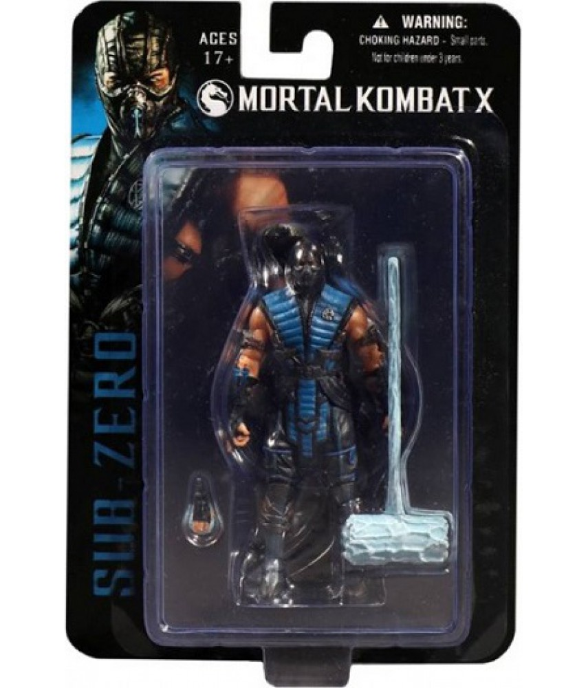 Mortal Kombat X. Фигурка Sub-Zero (10 см)