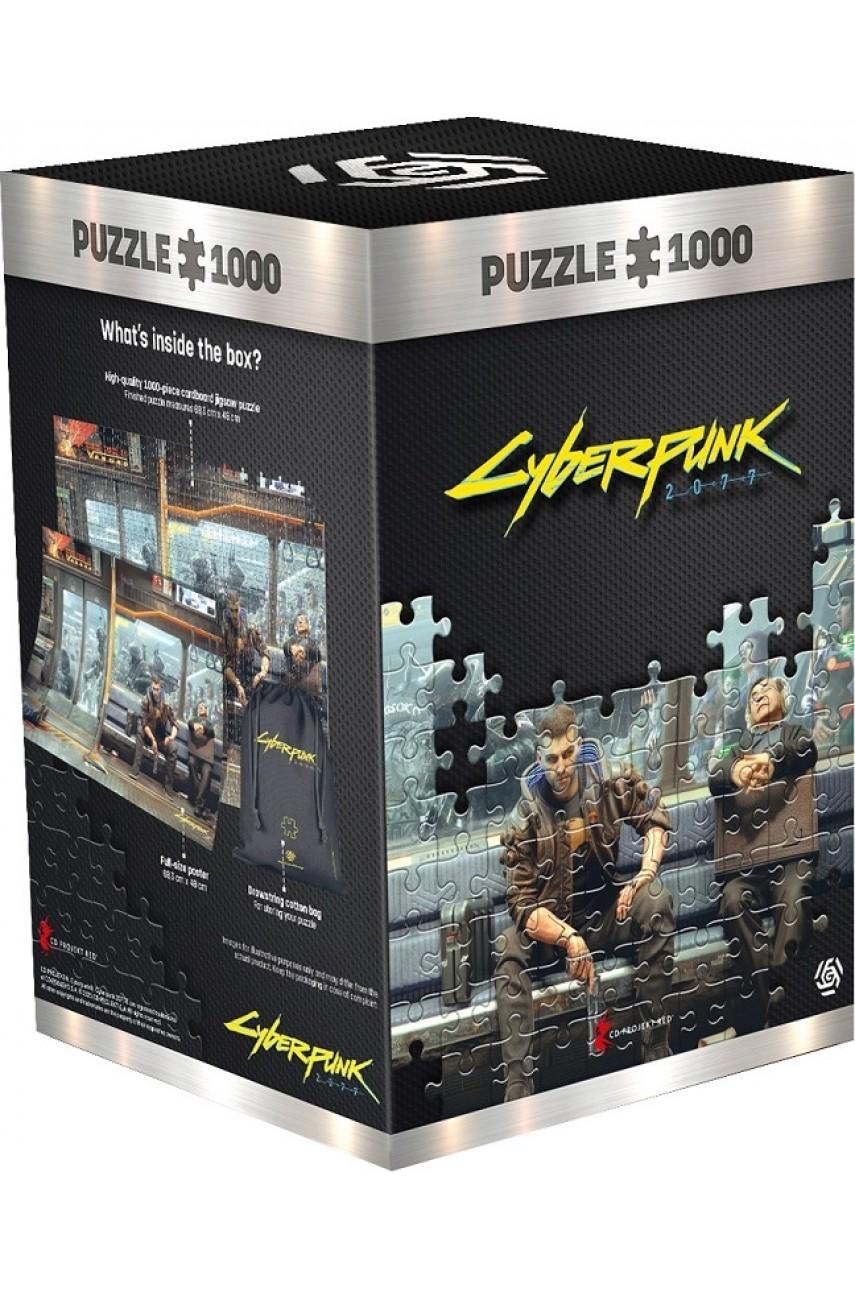 Пазл Cyberpunk 2077 Metro