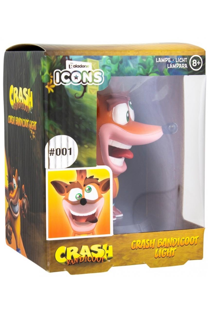 Светильник Crash Bandicoot Icon Light V2 BDP