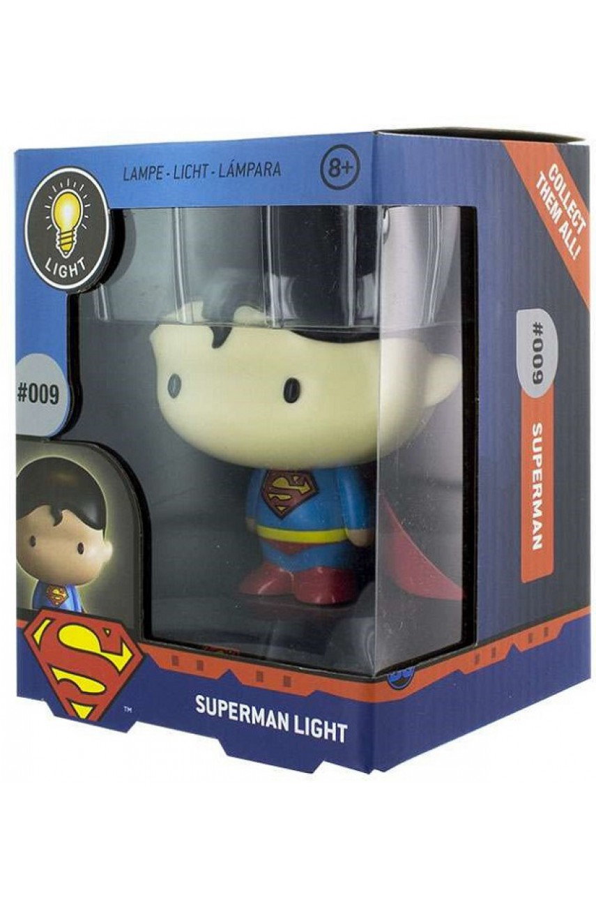 Светильник DC Superman 3D Character Light