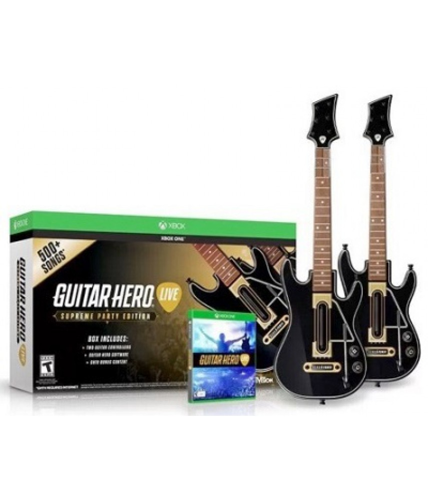 Guitar Hero Live Supreme Party Edition для Xbox One