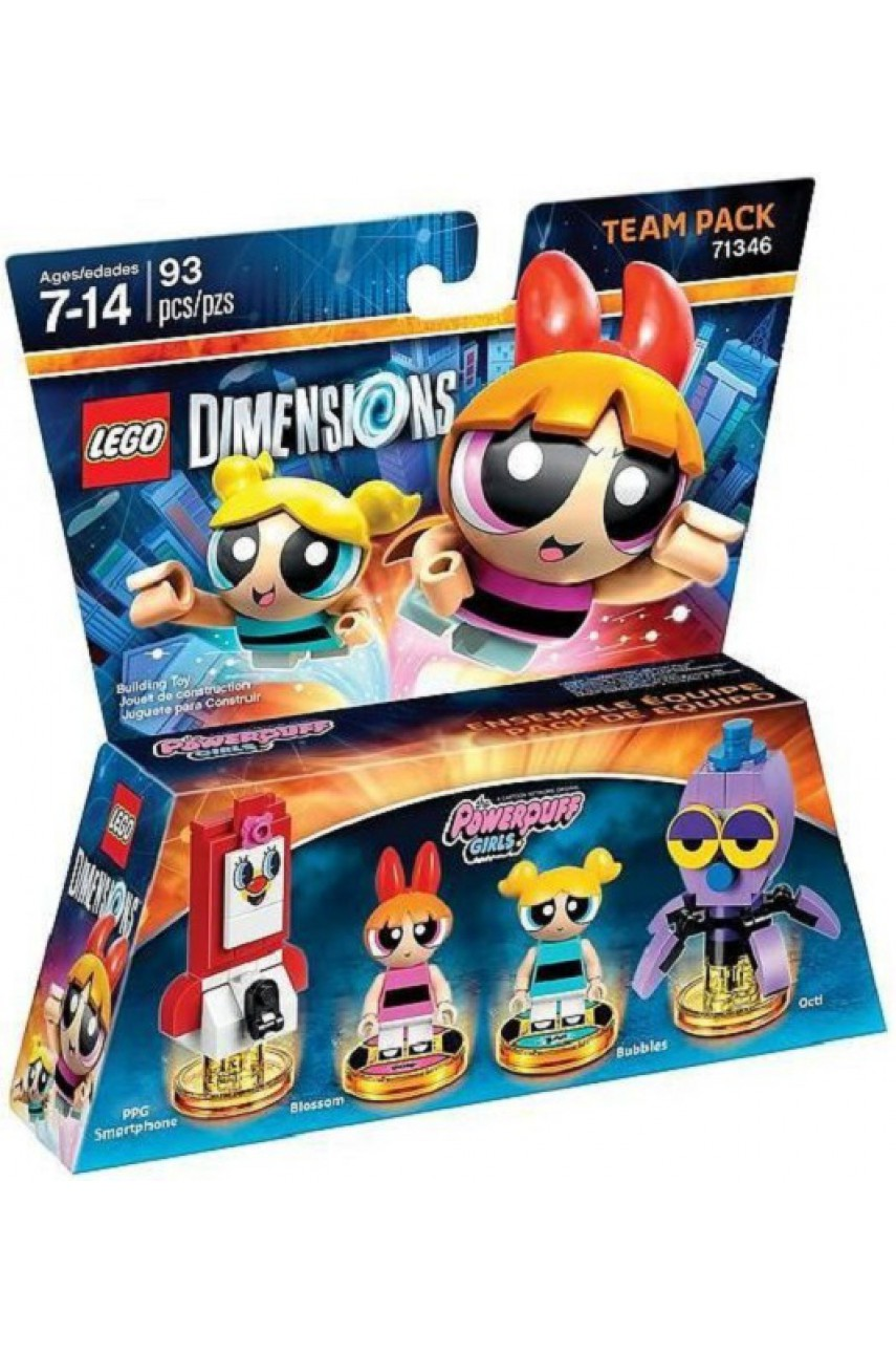 The Powerpuff Girls Team Pack - LEGO Dimensions 71346