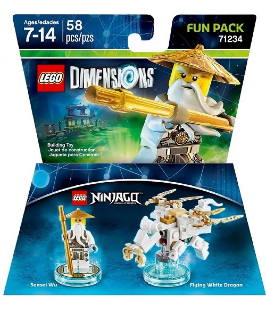 Sensei Wu Fun Pack - LEGO Dimensions 71234
