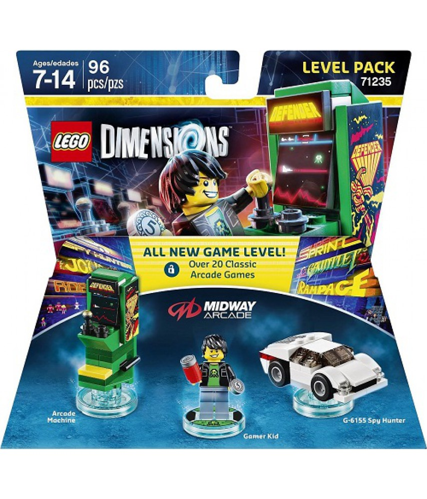 Midway Arcade Level Pack - LEGO Dimensions 71235
