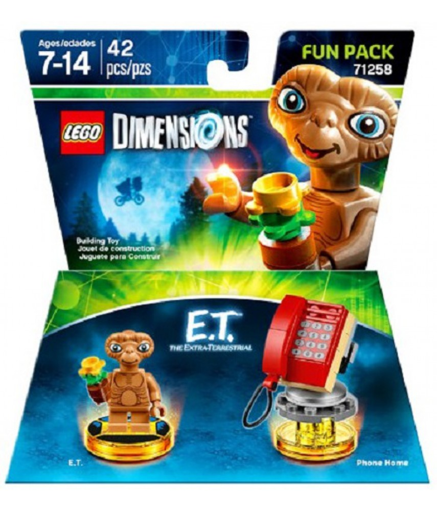 E.T. the Extra-Terrestrial Fun Pack - LEGO Dimensions 71258