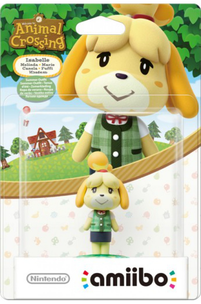 Фигурка Амибо Изабель Летняя одежда / Isabelle из коллекции Animal Crossing (Amiibo)