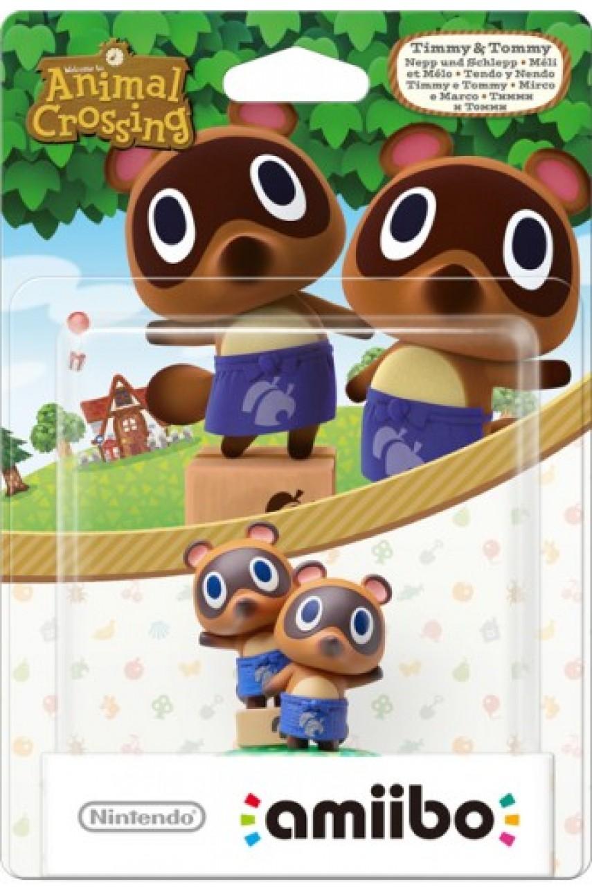 Фигурка Амибо Тимми и Томми / Timmy and Tommy из коллекции Animal Crossing (Amiibo)